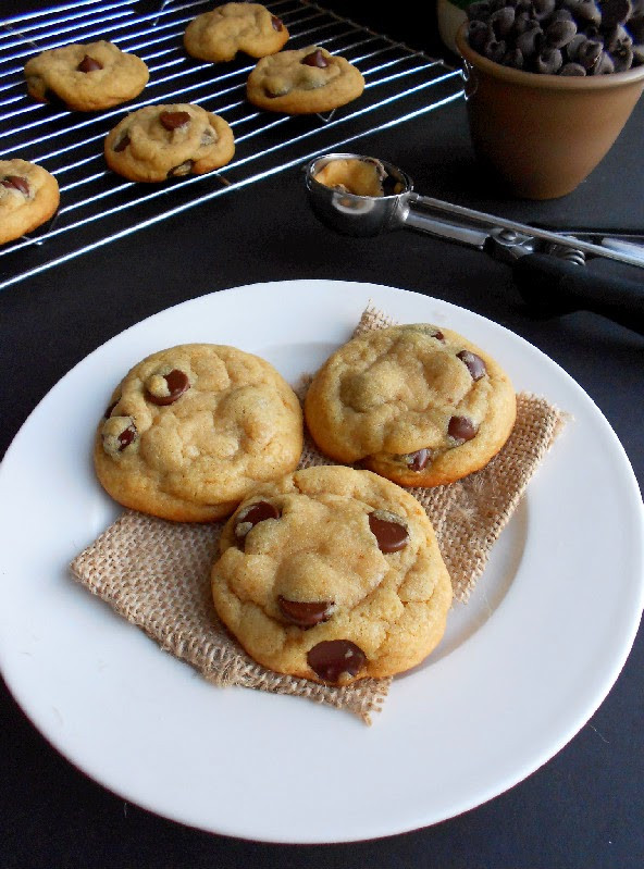 Chocolate Chip Cookies With Coconut Oil  Perfect Coconut Oil Chocolate Chip Cookies Confessions