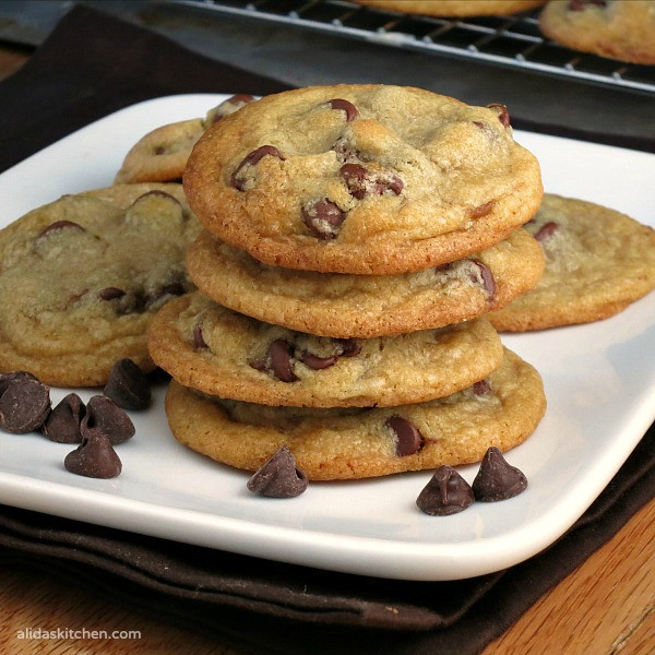 Chocolate Chip Cookies With Coconut Oil  Coconut Oil Chocolate Chip Cookies SundaySupper
