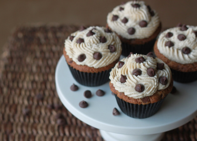 Chocolate Chip Cupcakes  Chocolate Chip Cookie Cupcakes Kitchen Treaty