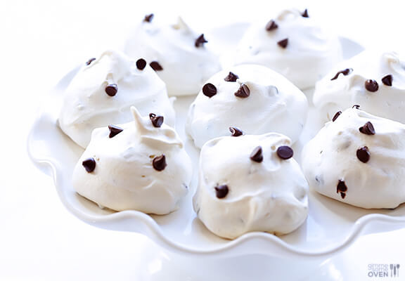 Chocolate Chip Meringue Cookies  Chocolate Chip Meringue Cookies