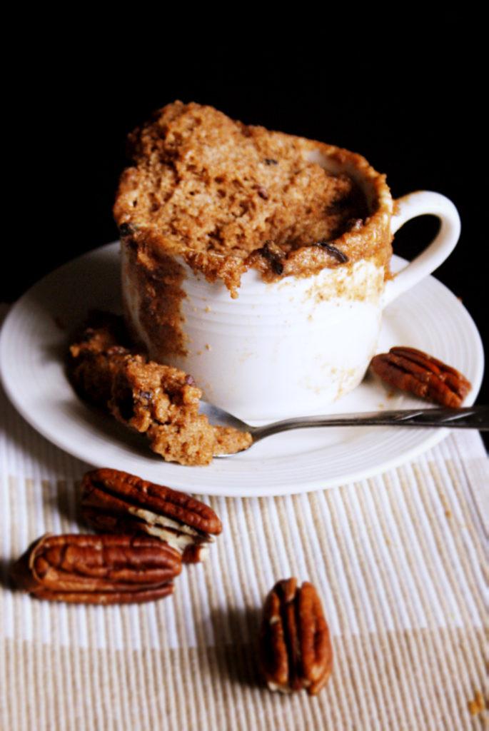 Chocolate Chip Mug Cake  Chocolate Chip Cookie Dough Mug Cake Primal Palate