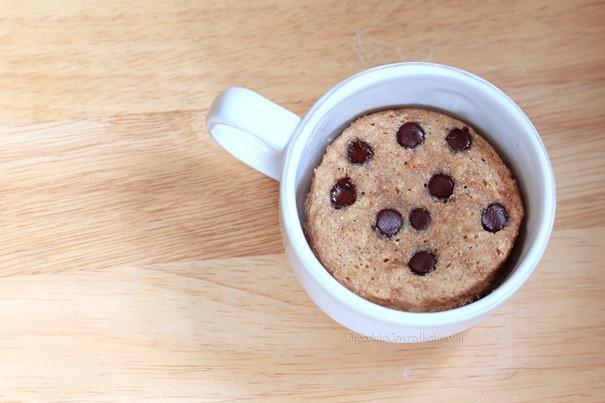 Chocolate Chip Mug Cake  Chocolate Chip Cookie Mug Cake
