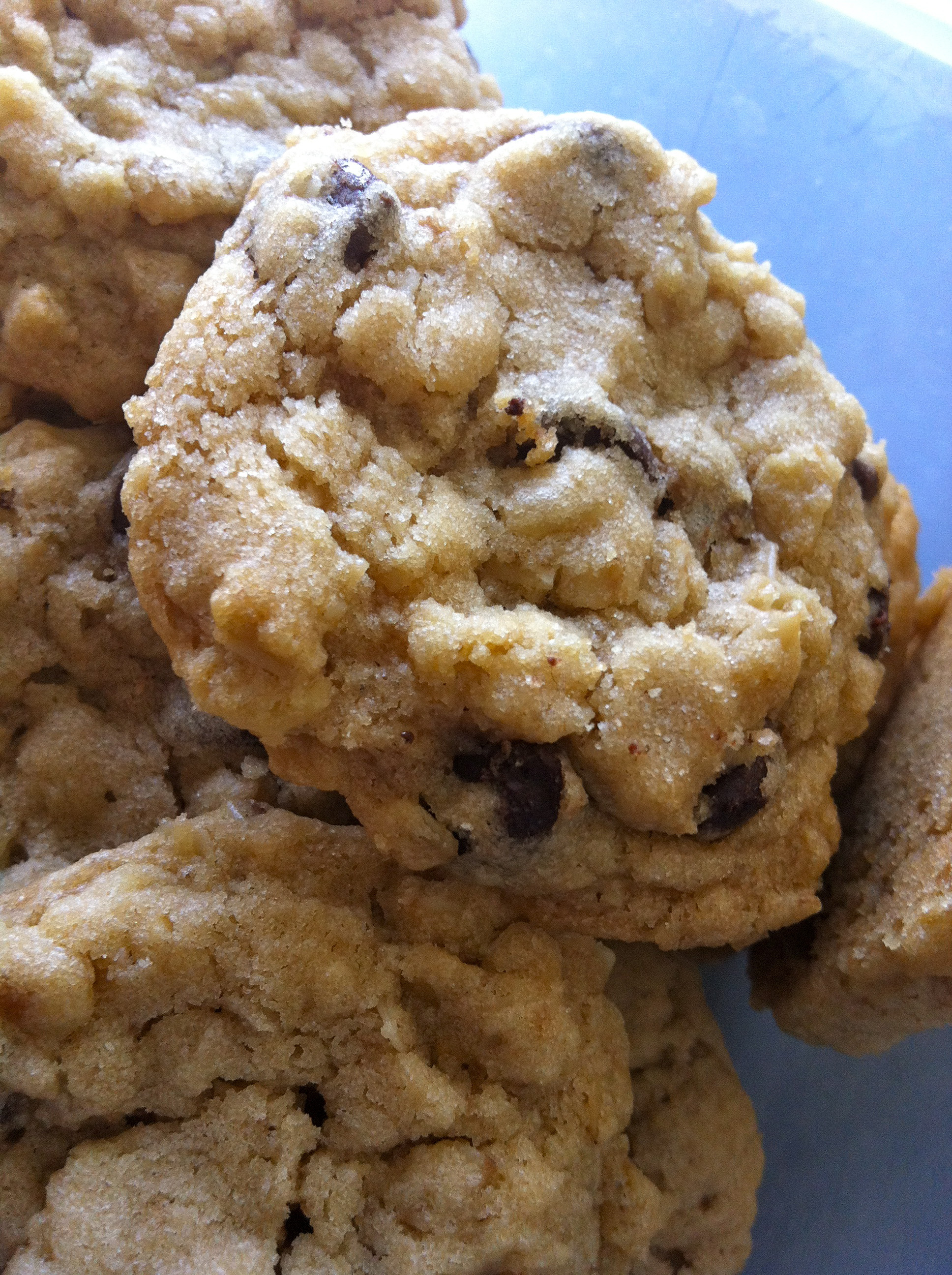 Chocolate Chip Oatmeal Cookies  Chewy Oatmeal Chocolate Chip Cookies