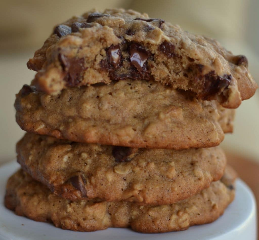 Chocolate Chip Oatmeal Cookies  Banana Oatmeal Chocolate Chip Cookie