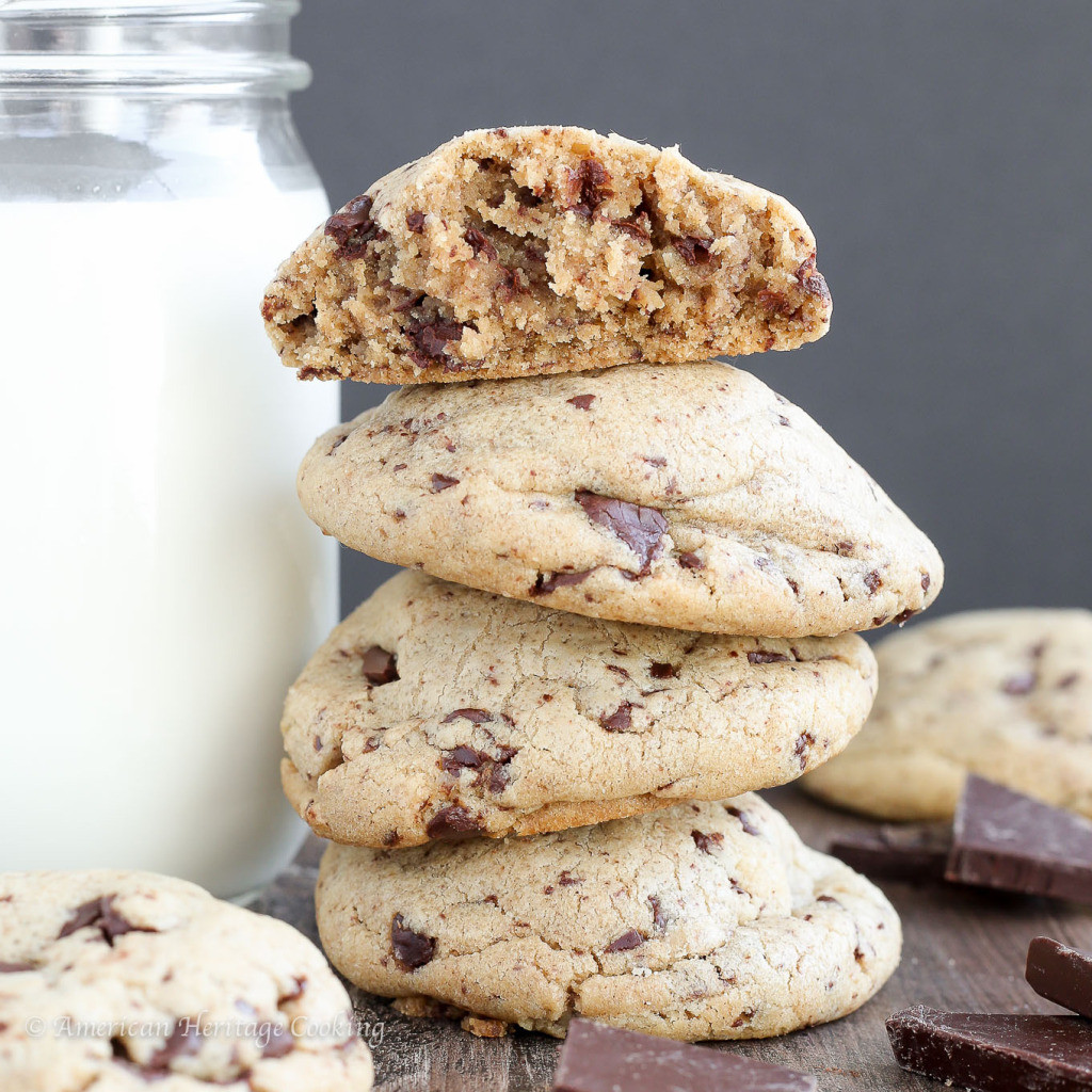 Chocolate Chip Peanut Butter Cookies  Chocolate Archives American Heritage Cooking