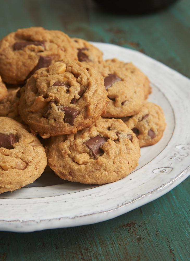 Chocolate Chip Peanut Butter Cookies  Peanut Butter Chocolate Chip Crunch Cookies Bake or Break