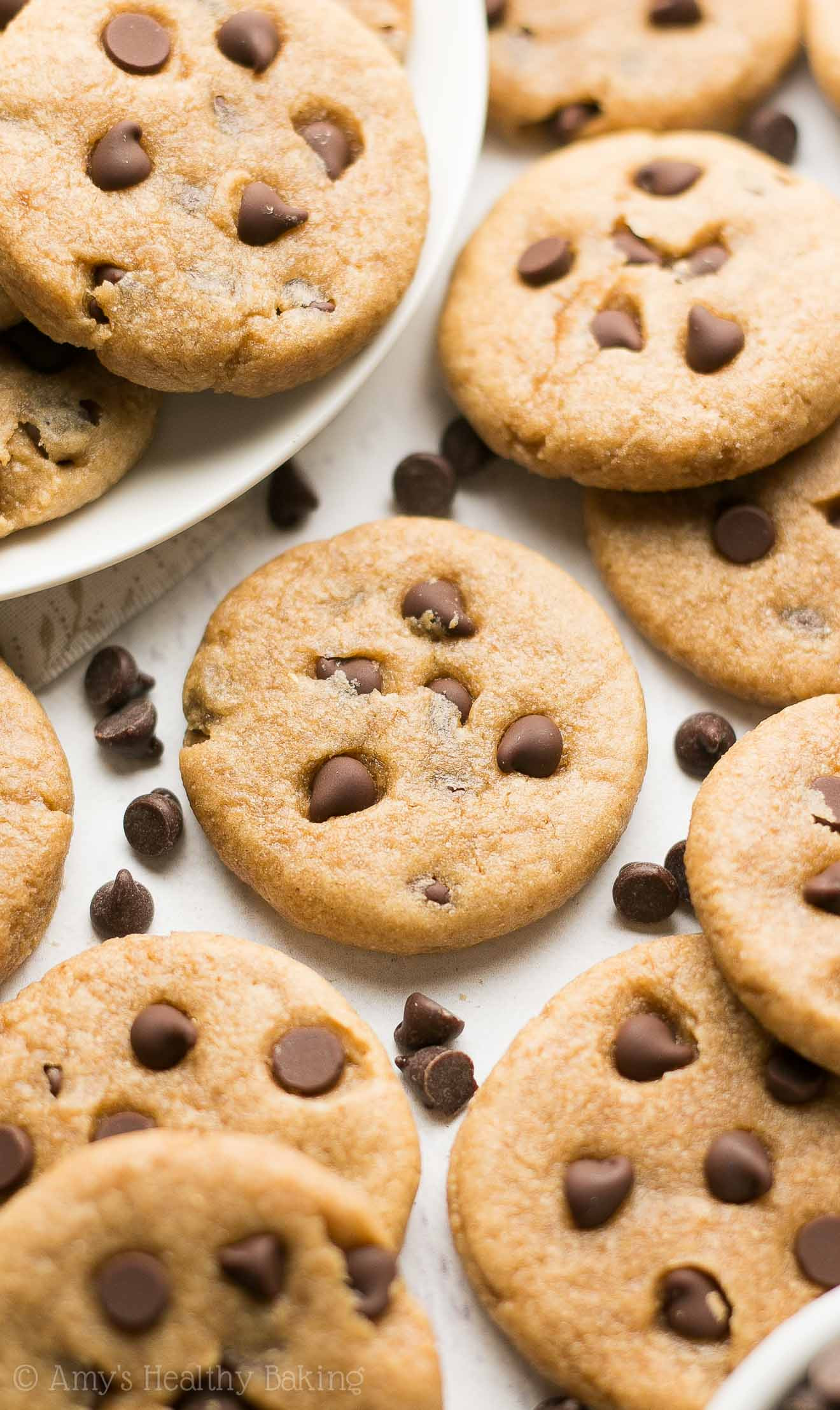 Chocolate Chip Peanut Butter Cookies  Mini Chocolate Chip Peanut Butter Cookies