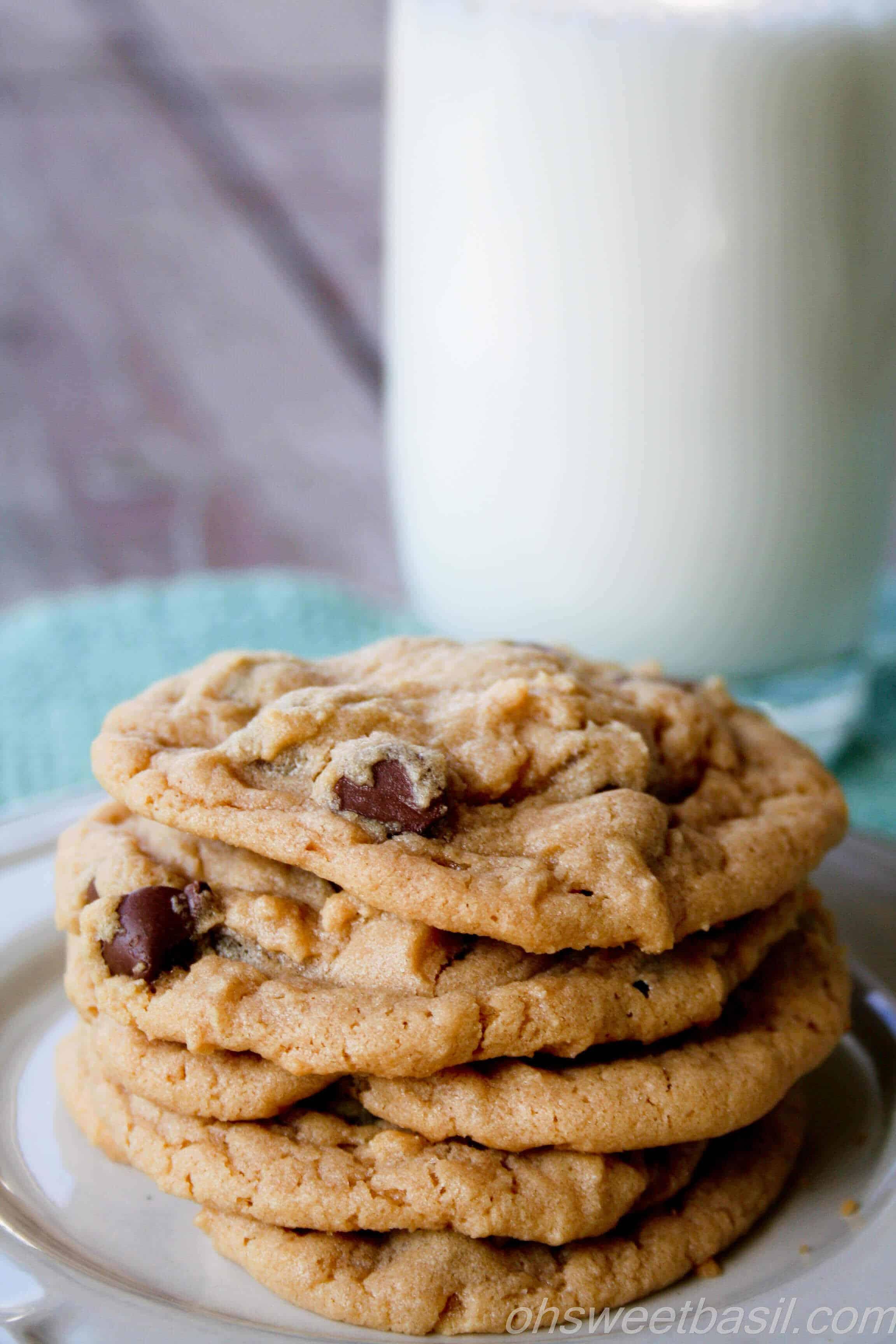 Chocolate Chip Peanut Butter Cookies  Peanut Butter Chocolate Chip Cookies Recipe — Dishmaps