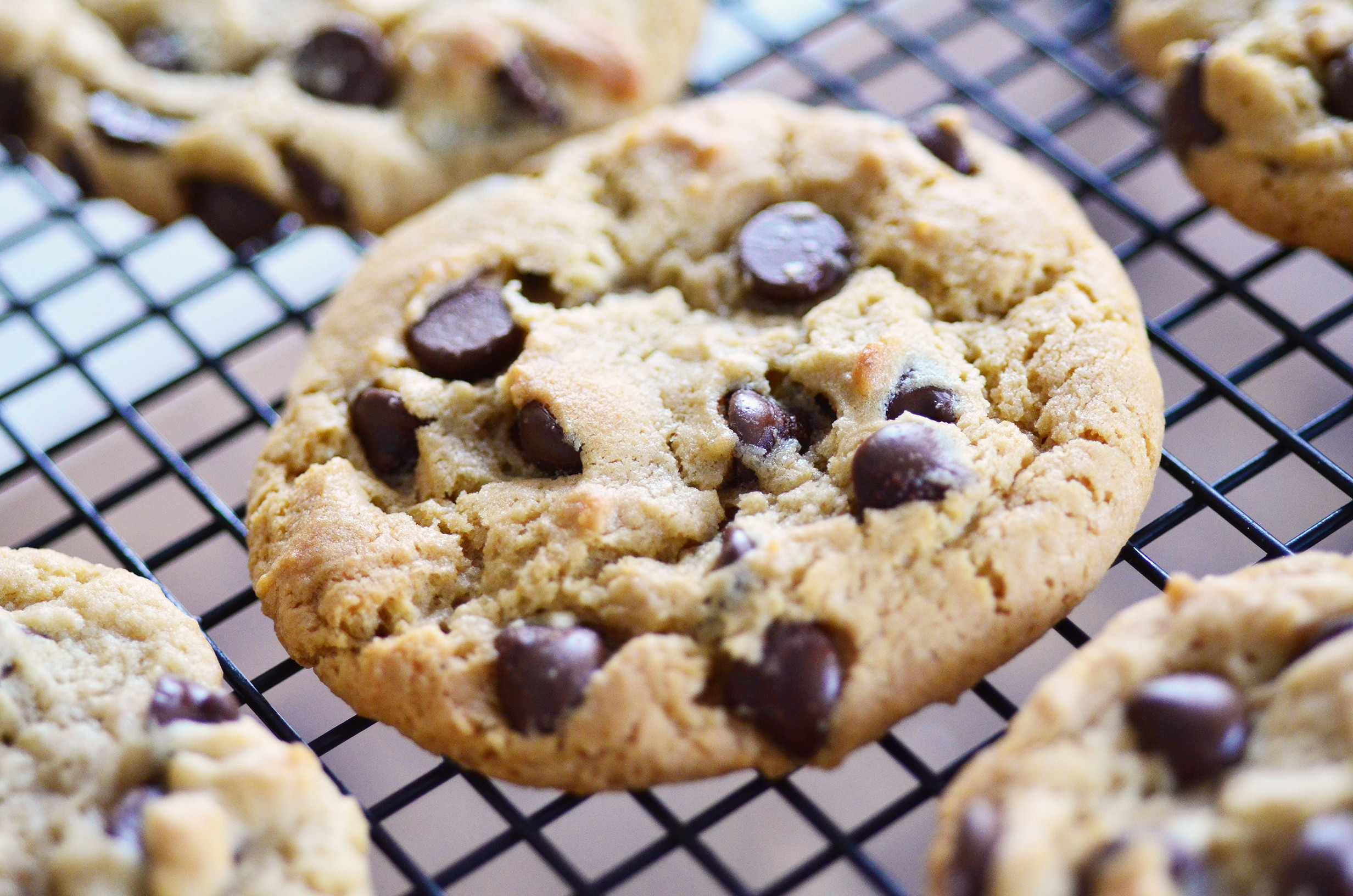 Chocolate Chip Peanut Butter Cookies  Chewy Peanut Butter Chocolate Chip Cookies Simple Sweet