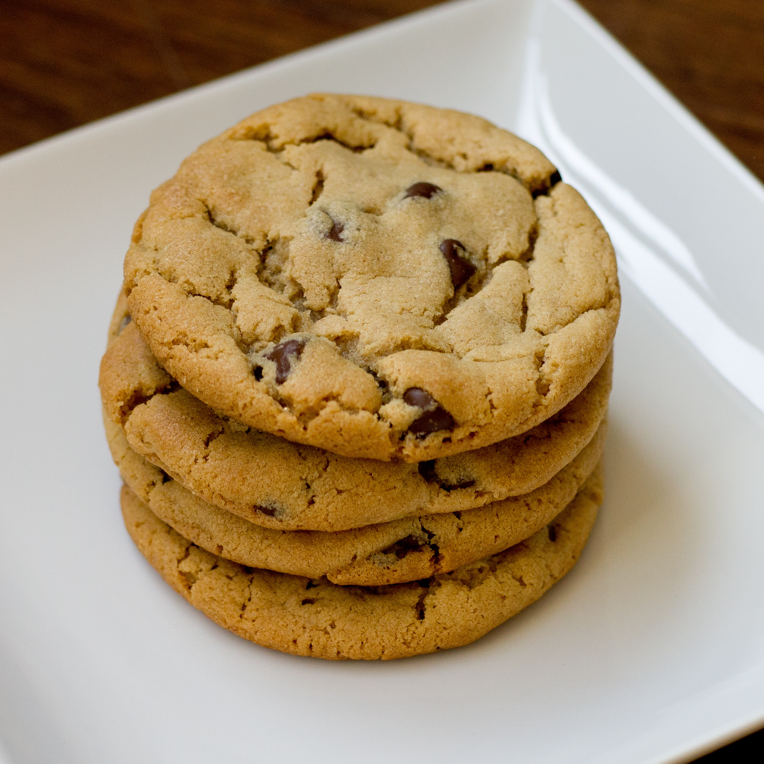 Chocolate Chip Peanut Butter Cookies  eggless peanut butter chocolate chip cookies