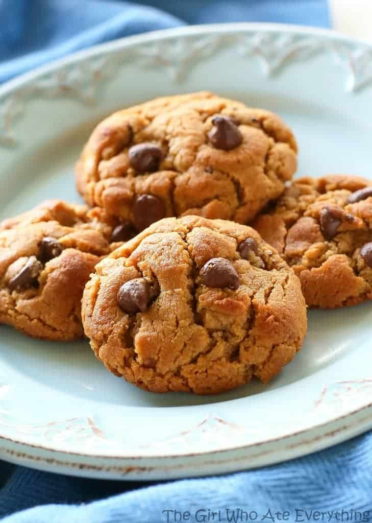 Chocolate Chip Peanut Butter Cookies  5 Ingre nt Peanut Butter Chocolate Chip Cookies The