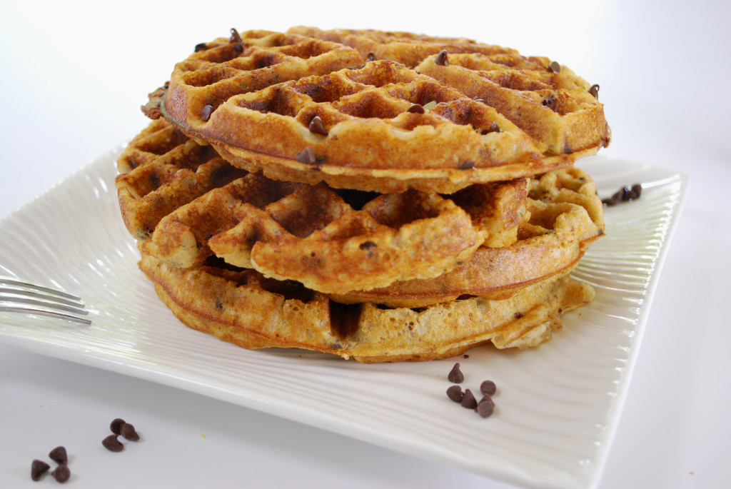 Chocolate Chip Waffles  Chocolate Chip Waffles