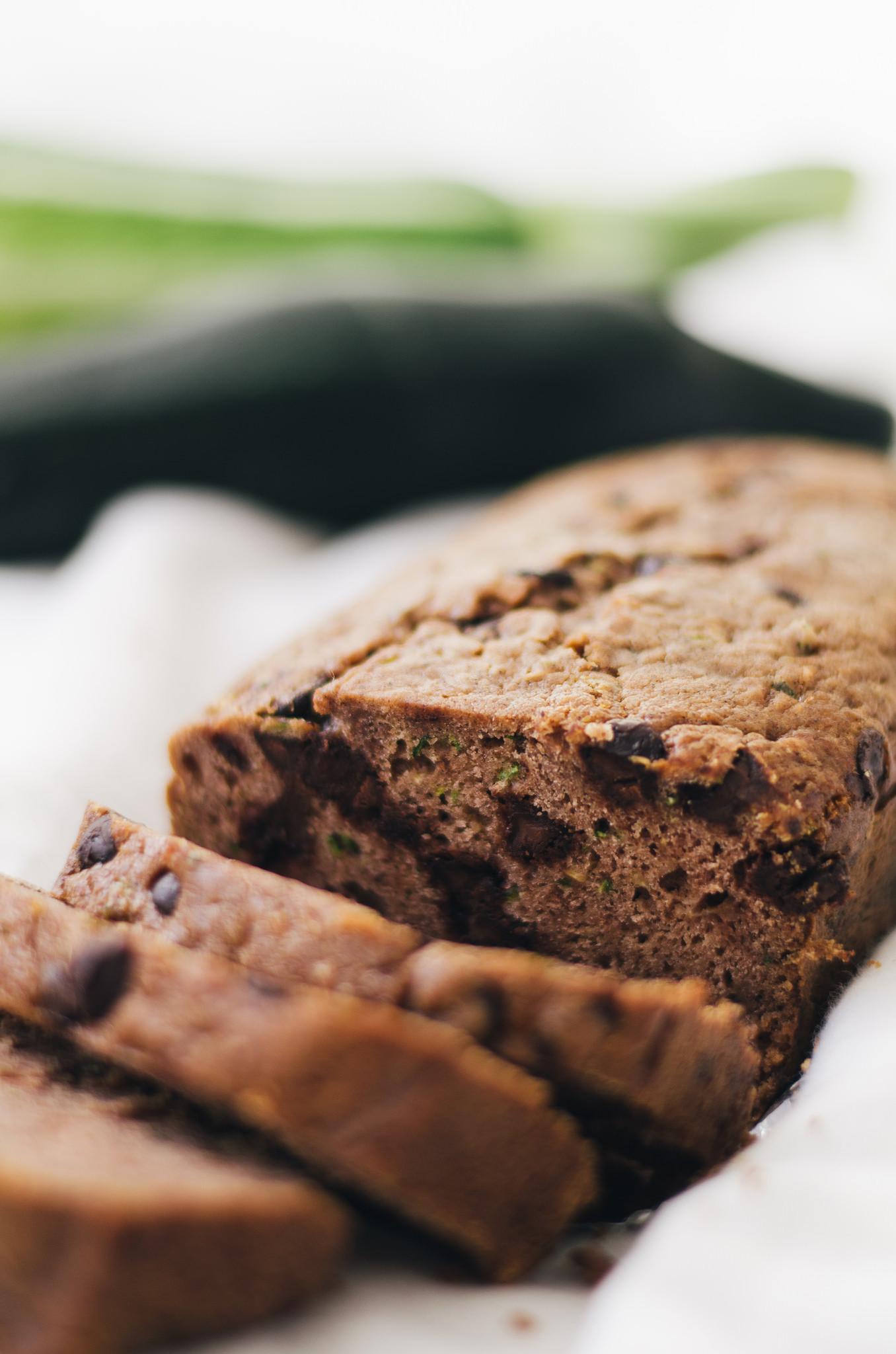 Chocolate Chip Zucchini Bread Recipe  Best Ever Chocolate Chip Zucchini Bread