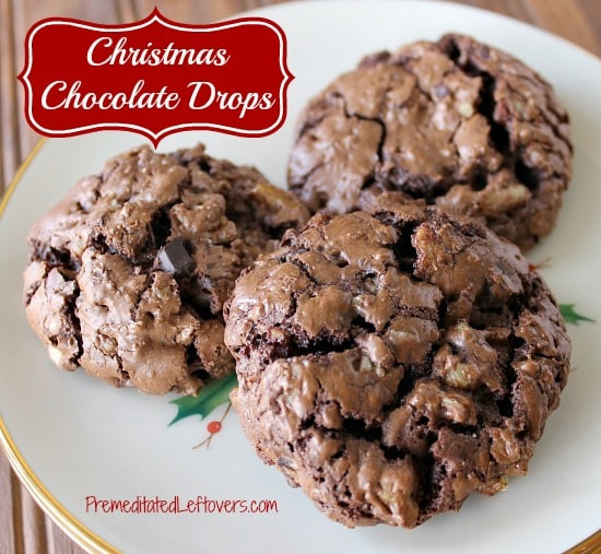 Chocolate Cookie Recipe Cocoa Powder  chocolate drop cookies cocoa powder