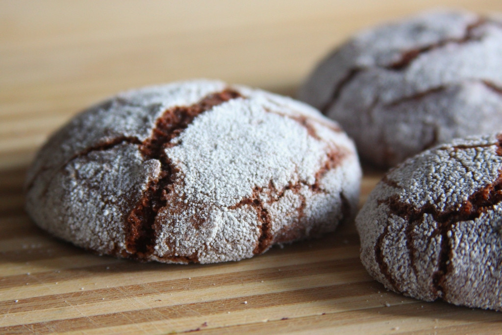 Chocolate Cookie Recipe Cocoa Powder  chocolate crinkle cookies cocoa powder