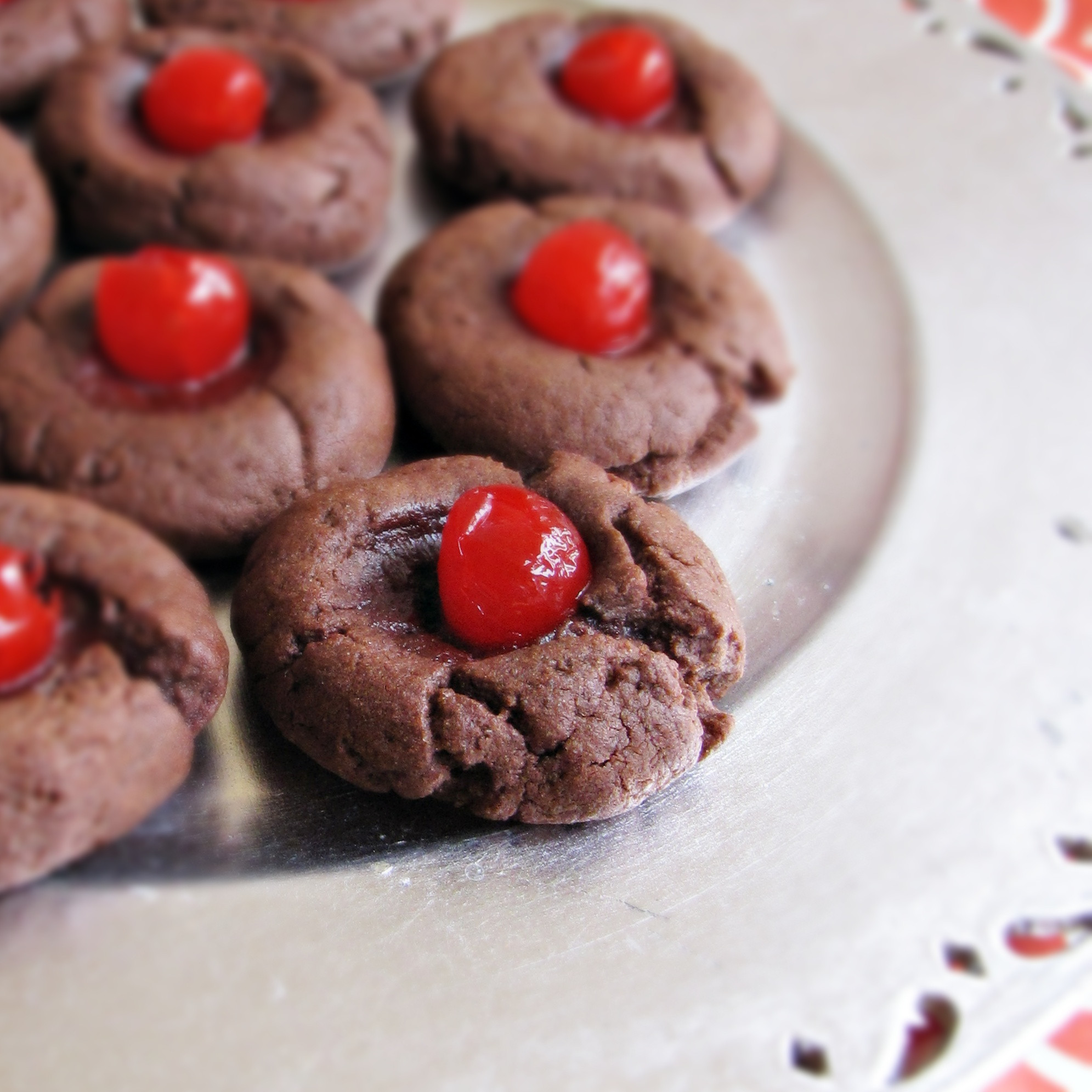 Chocolate Covered Cherry Cookies  Chocolate Covered Cherry Cookies Katie at the Kitchen Door