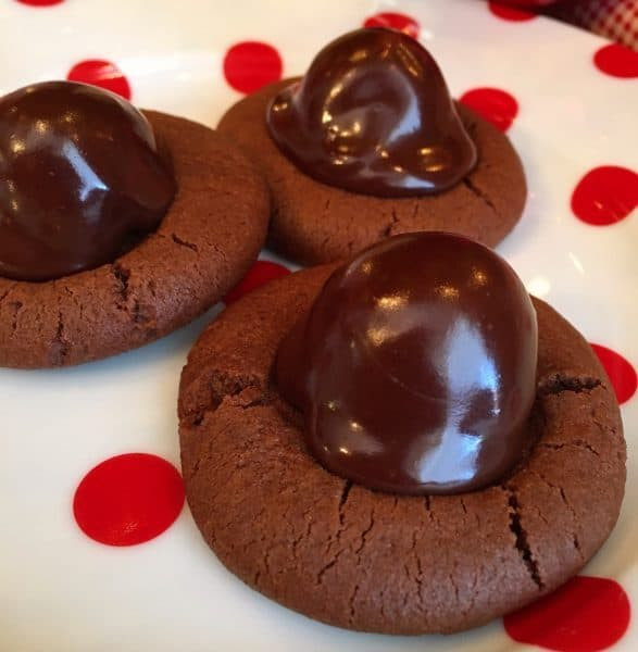Chocolate Covered Cherry Cookies  Chocolate Covered Cherry Cookies