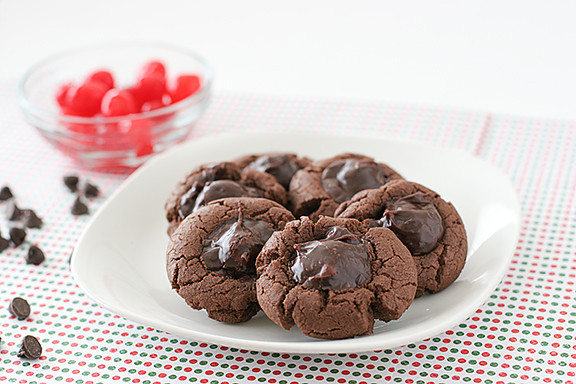 Chocolate Covered Cherry Cookies  Chocolate Covered Cherry Delights Taste and Tell