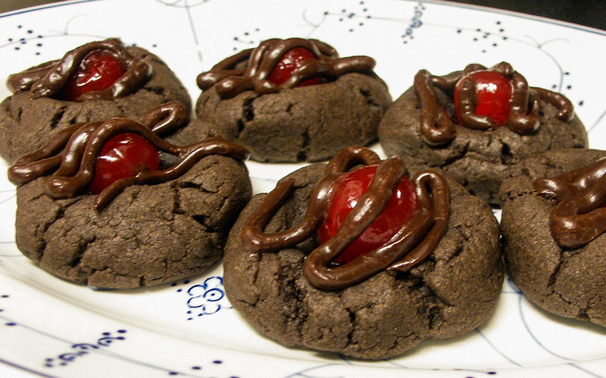 Chocolate Covered Cherry Cookies  Love Chocolate Covered Cherries Try Them in Cookie Form