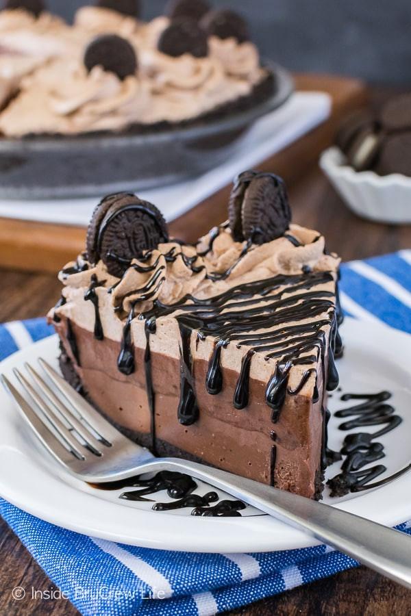 Chocolate Cream Pie With Pudding  No Bake Chocolate Cream Pie Inside BruCrew Life