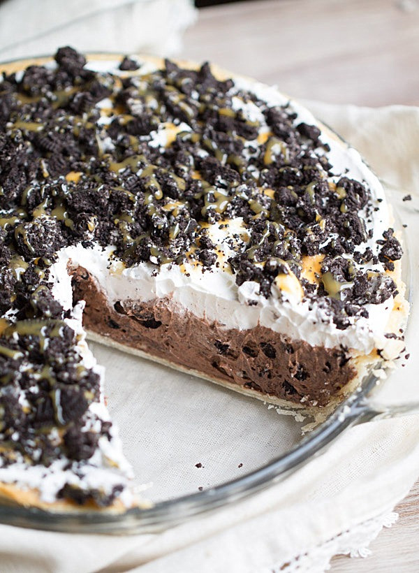 Chocolate Cream Pie With Pudding  Cookies and Cream Chocolate Pudding Pie