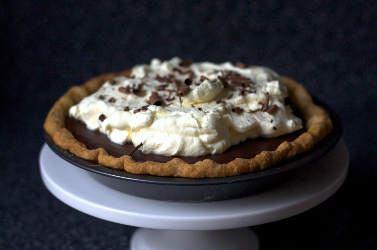 Chocolate Cream Pie With Pudding  chocolate pudding pie – smitten kitchen