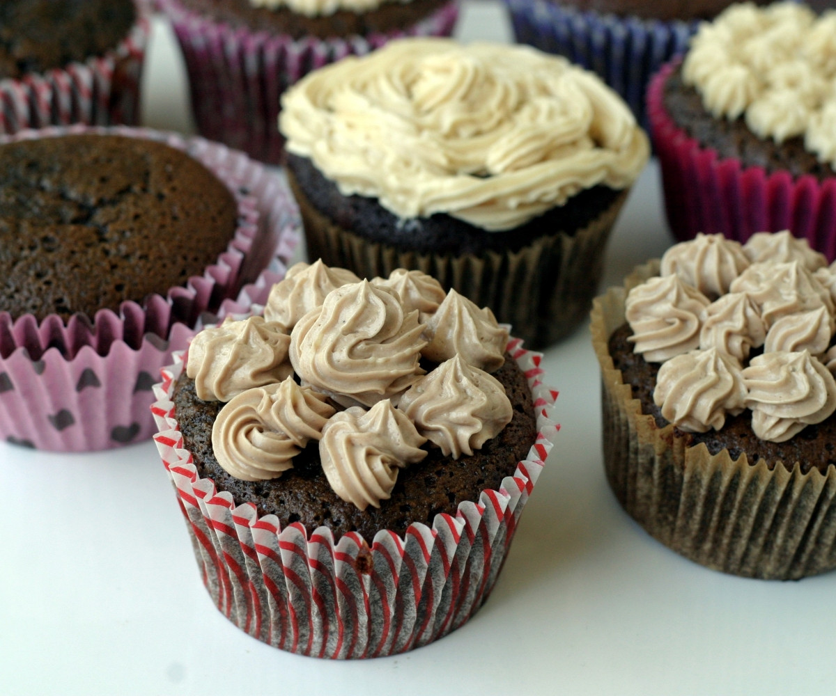 Chocolate Cupcakes From Scratch  High Chocolate Cupcakes Chocolate Cupcake Gourmet Memoirs