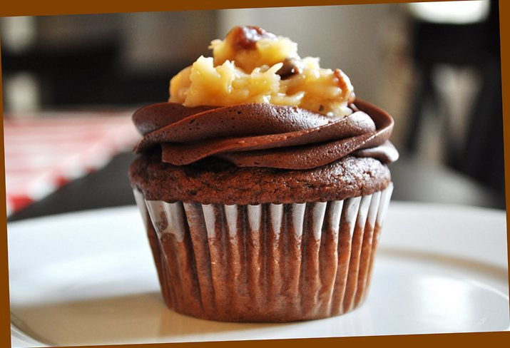 Chocolate Cupcakes From Scratch  german chocolate cupcakes from scratch