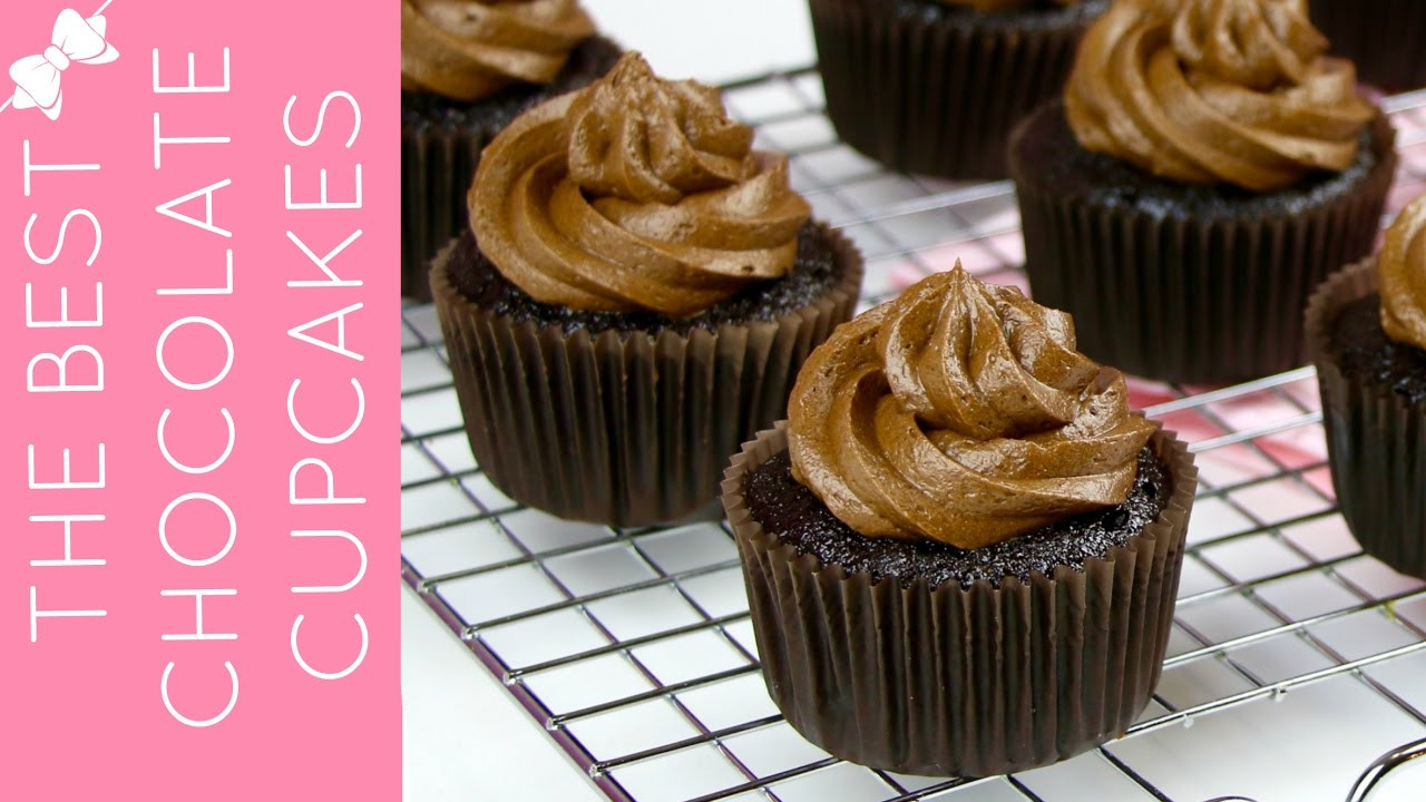 Chocolate Cupcakes From Scratch  How To Make THE BEST Easy Chocolate Cupcakes from Scratch
