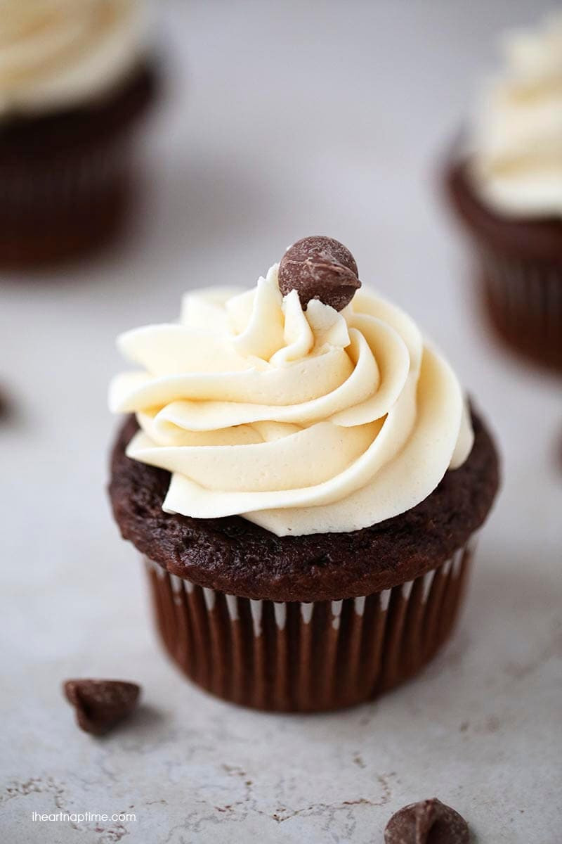 Chocolate Cupcakes Recipe  The best chocolate cupcakes ever I Heart Nap Time