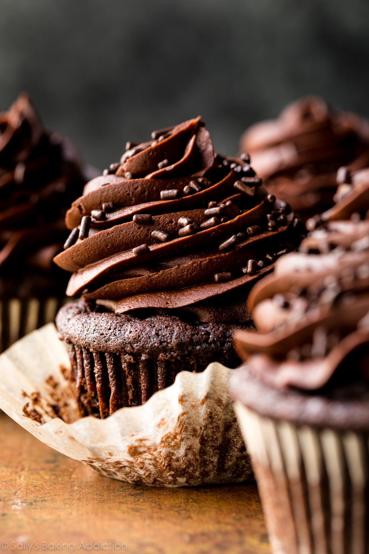 Chocolate Cupcakes Recipe  Super Moist Chocolate Cupcakes
