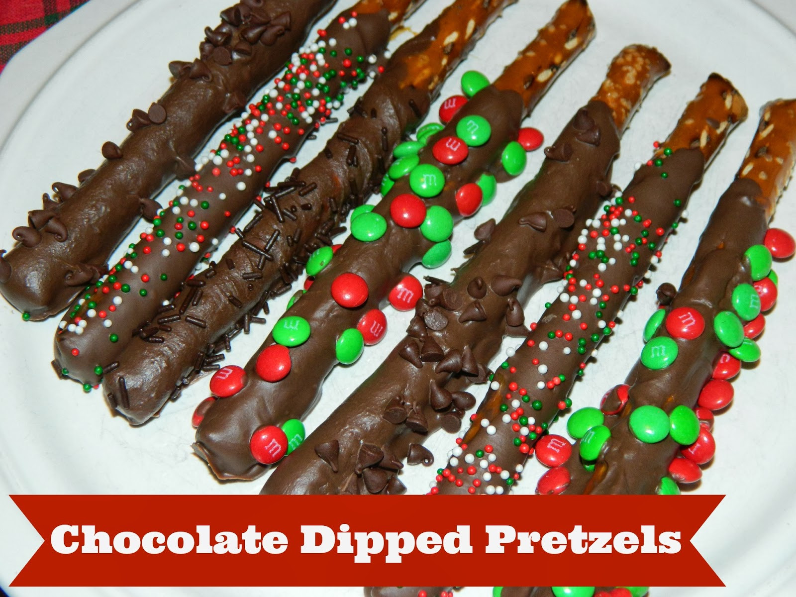 Chocolate Dipped Pretzels  Polka Dotty Place Chocolate Dipped Pretzels