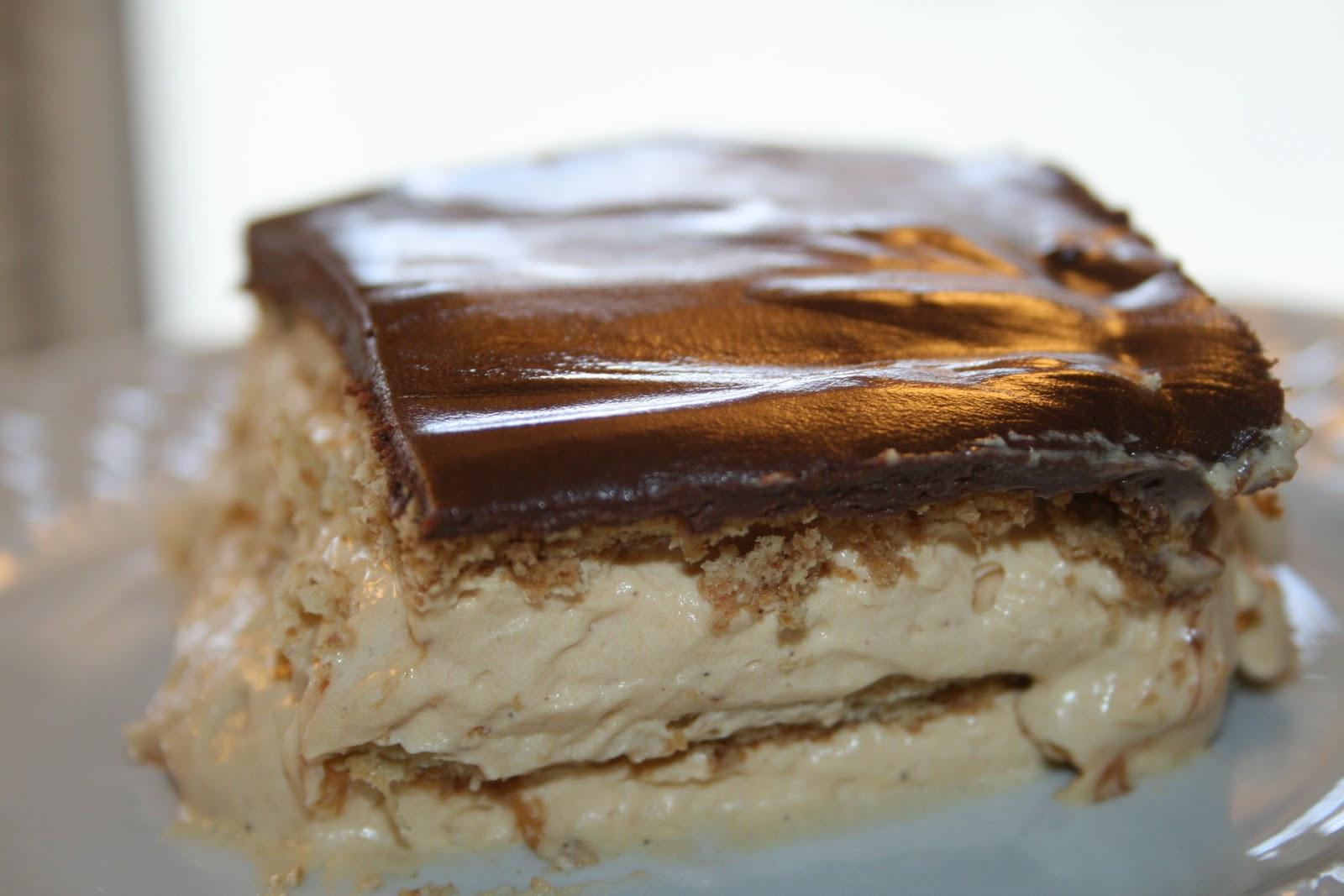Chocolate Eclair Cake Recipe  SusieQTpies Cafe Gingerbread Chocolate Eclair Dessert Recipe