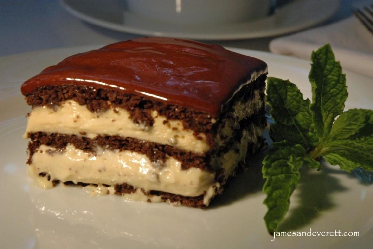 Chocolate Eclair Cake Recipe  Peanut Butter Chocolate Eclair Cake Recipe 2