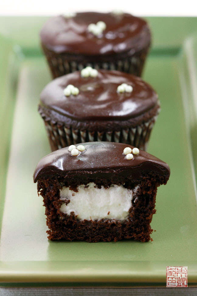 Chocolate Filling Cupcakes  chocolate filled cupcakes