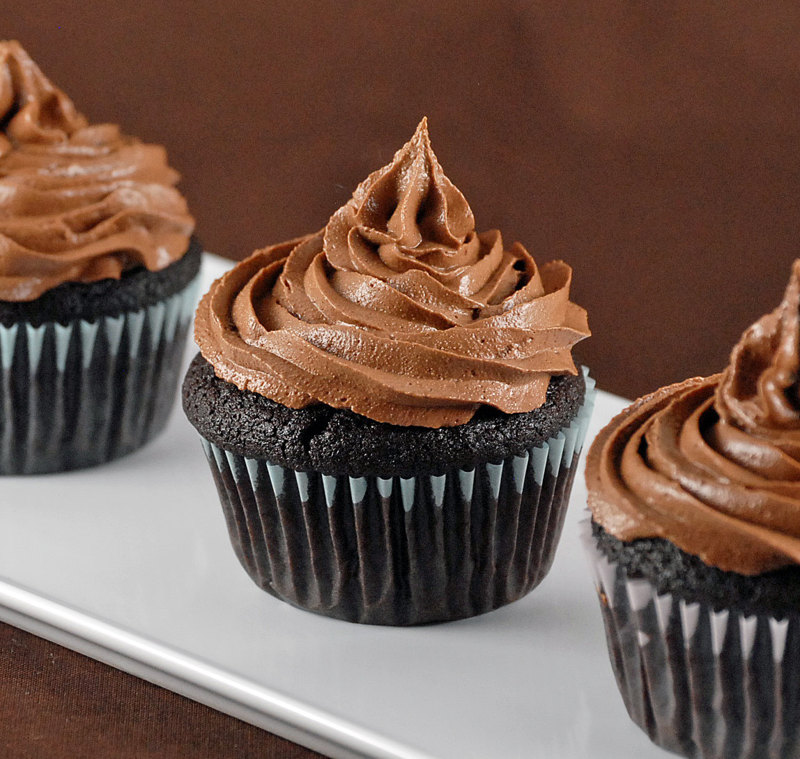 Chocolate Filling Cupcakes  Ganache Filled Chocolate Cupcakes