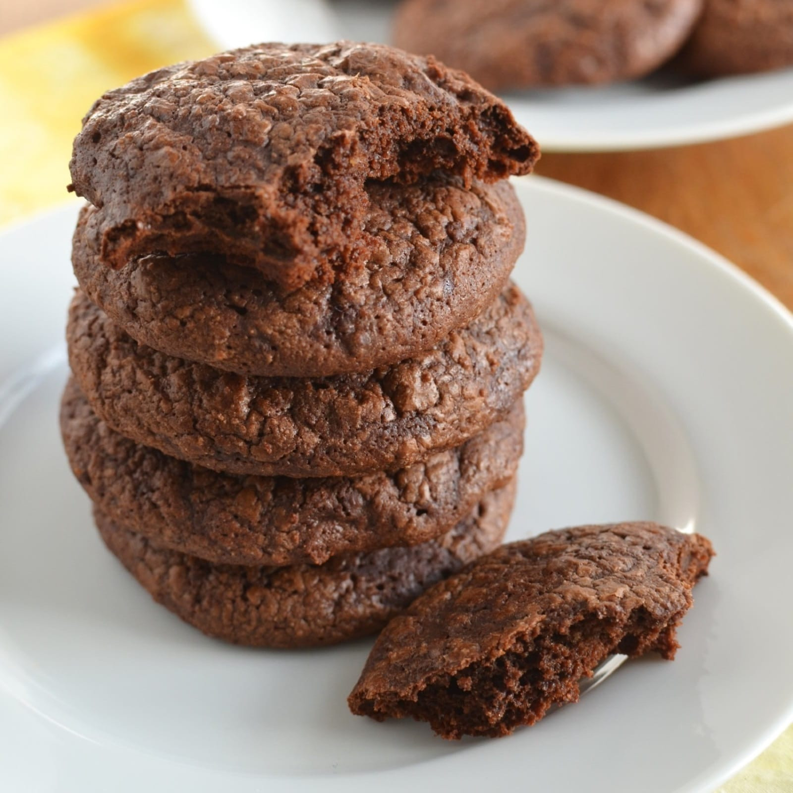Chocolate Fudge Cookies  Chocolate Fudge Cookies 24 Carrot Kitchen