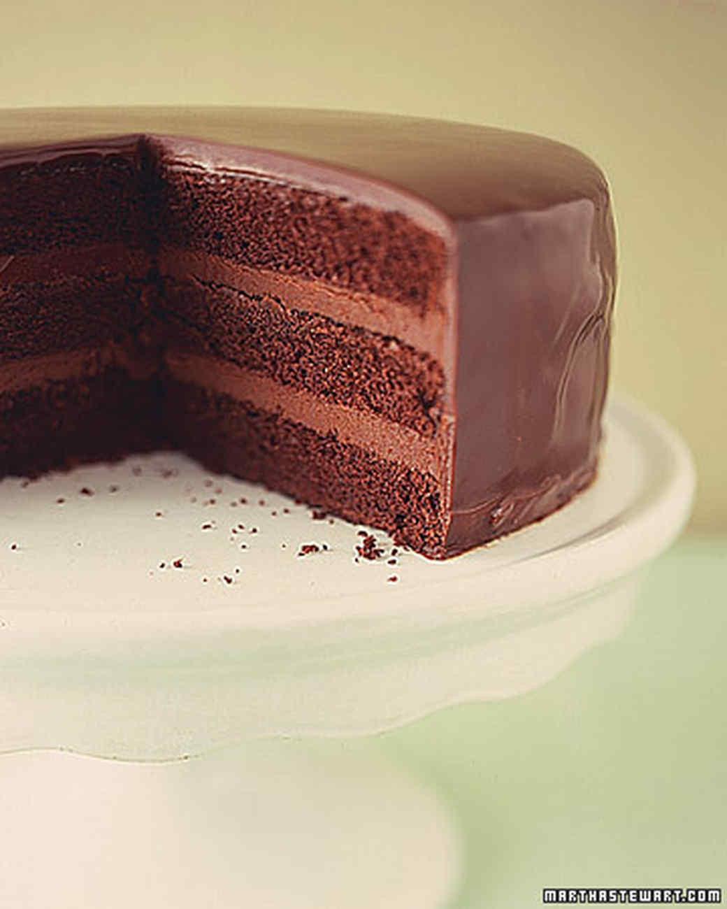 Chocolate Ganache Cake  How to Make Ganache