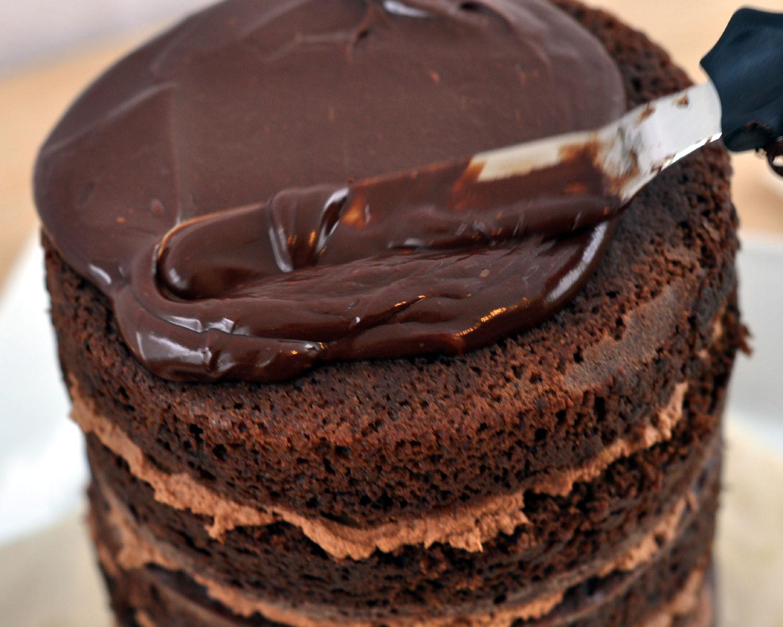 Chocolate Ganache Cake  Beki Cook s Cake Blog The Most Ridiculous Chocolate Cake Ever
