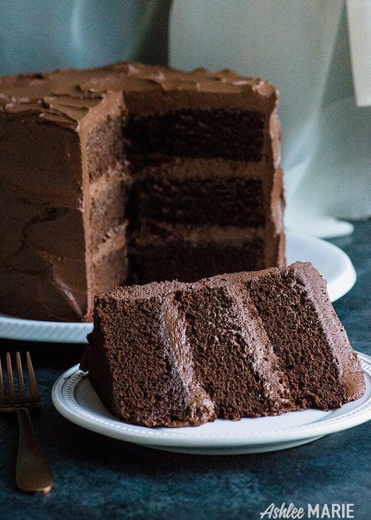 Chocolate Ganache Cake  Perfect Chocolate Cake Recipe with Ganche buttercream