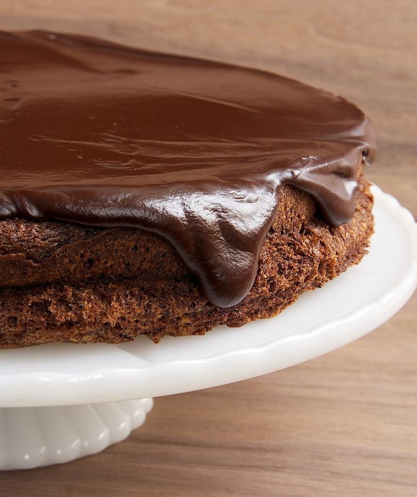 Chocolate Ganache Cake  Flourless Chocolate Cake with Chocolate Ganache Bake or