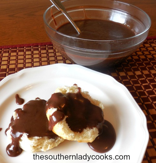 Chocolate Gravy Recipe  CHOCOLATE GRAVY AND BISCUITS The Southern Lady Cooks