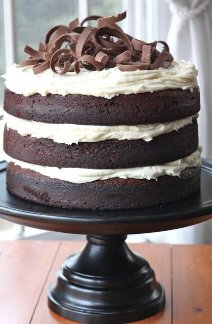 Chocolate Guinness Cake  Guinness Chocolate Cake With Cream Frosting Recipe