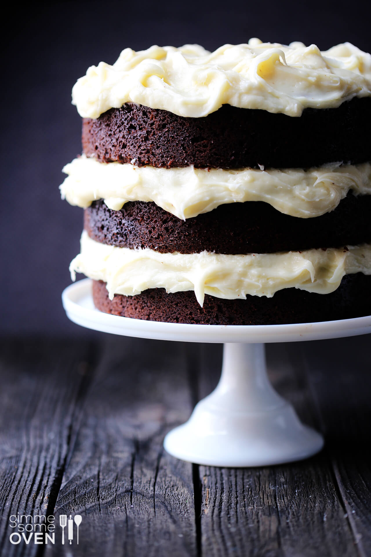Chocolate Guinness Cake  Guinness Chocolate Cake with Cream Cheese Frosting