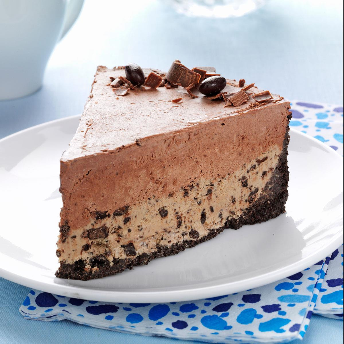 Chocolate Ice Cream Cake  Chocolate Coffee Bean Ice Cream Cake Recipe