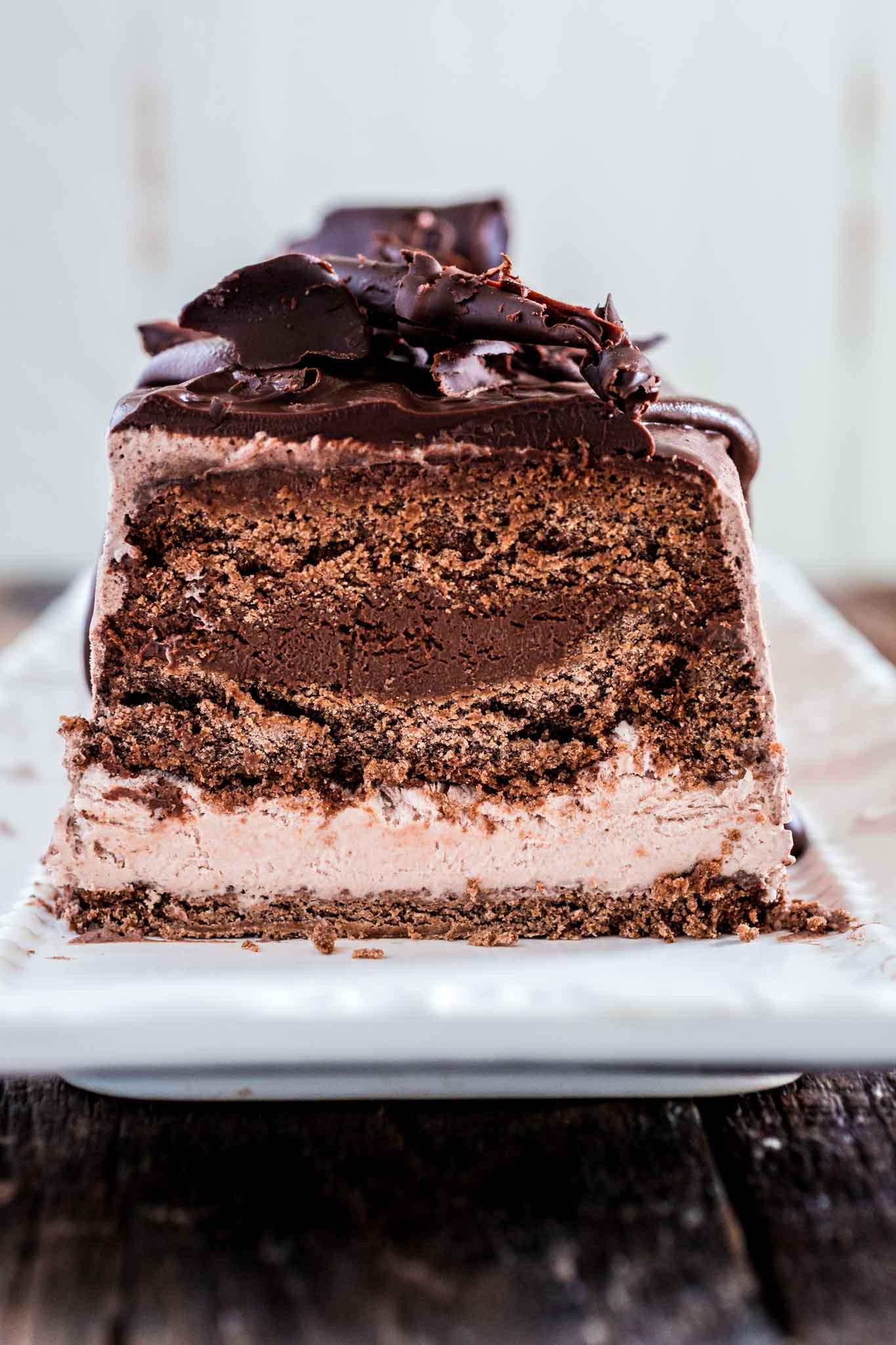 Chocolate Ice Cream Cake  Chocolate Ice Cream Cake Olivia s Cuisine