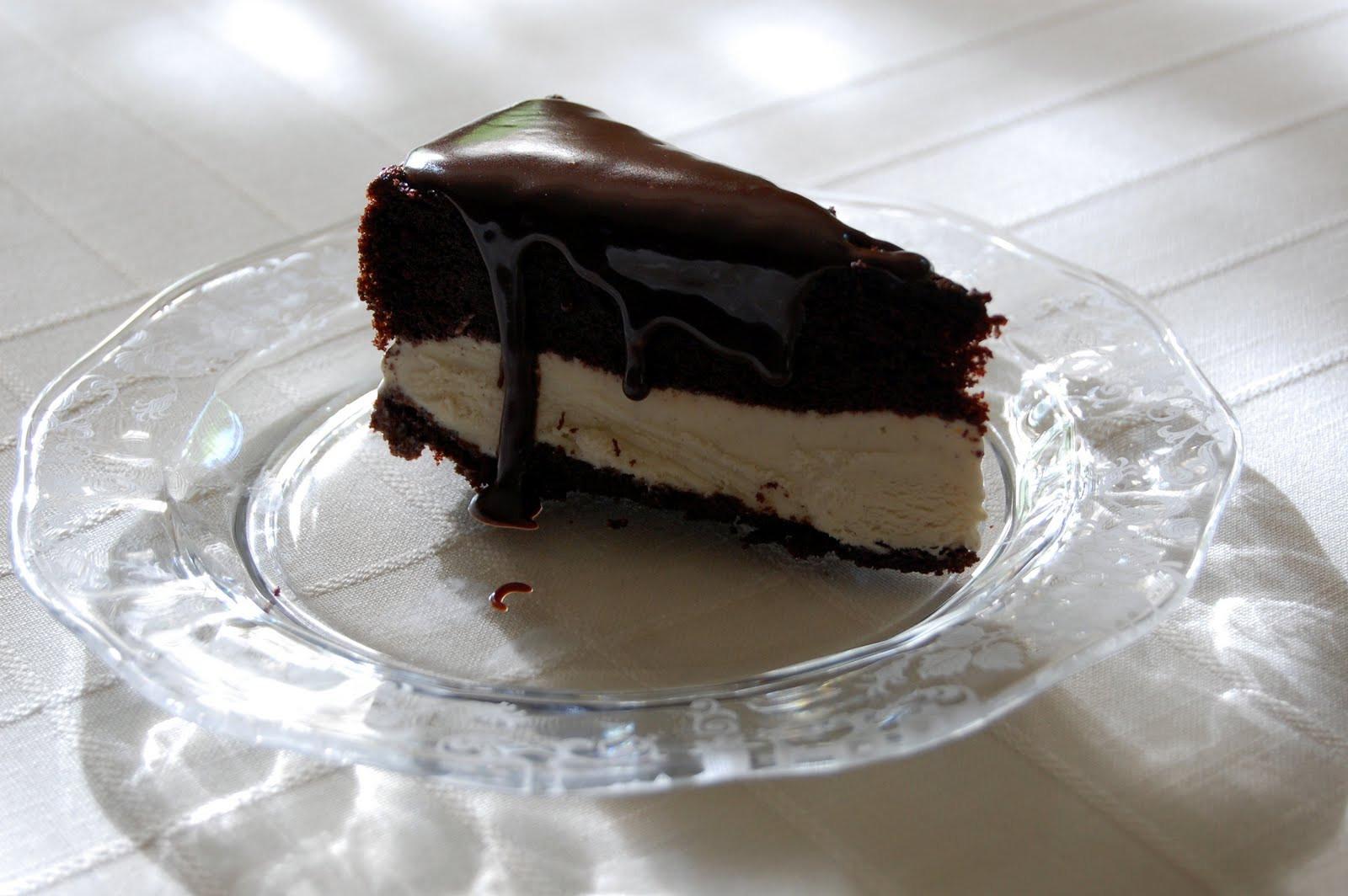 Chocolate Ice Cream Cake  Chocolate Ice Cream Cake