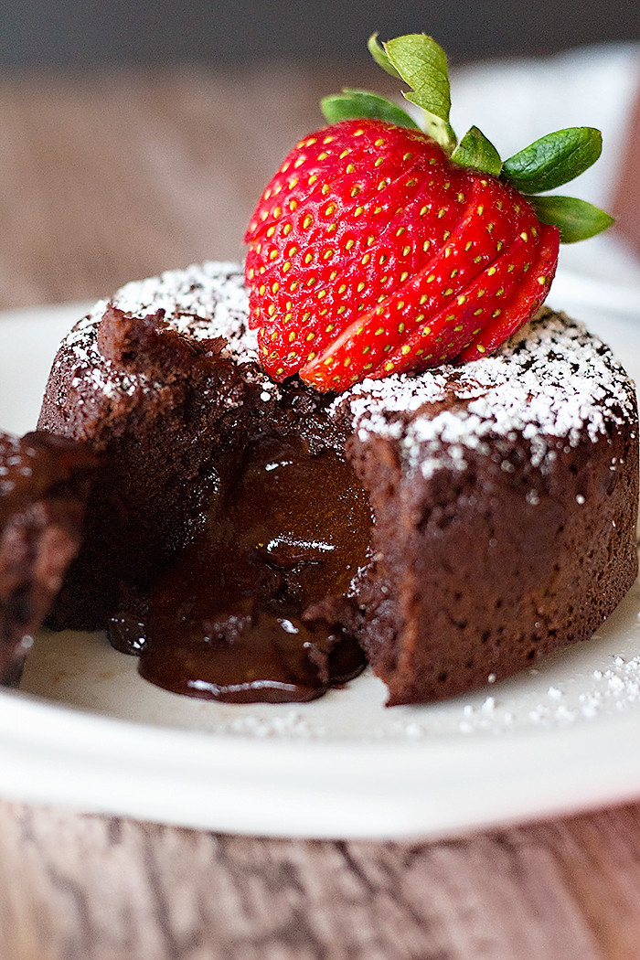 Chocolate Lava Cake  Molten Chocolate Lava Cake • Unicorns in the Kitchen