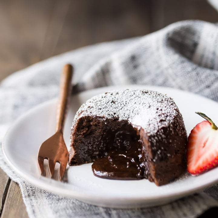 Chocolate Lava Cake  Chocolate Molten Lava Cakes so rich & decadent Baking a