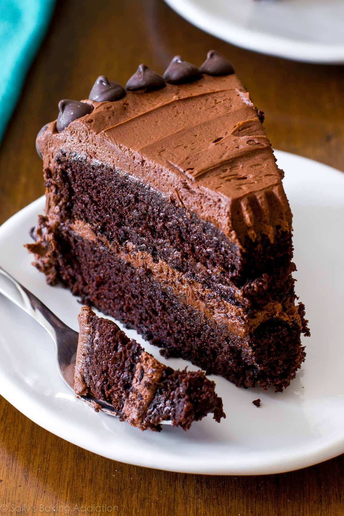 Chocolate Layer Cake  Triple Chocolate Layer Cake